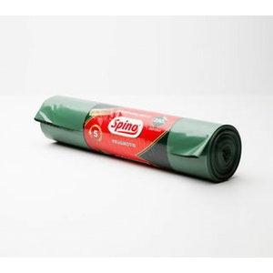 Atkritumu maisi LD 200L (750x1350) 60 my, īpaši izturīgi, Spino