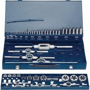 Set of threading tools M3-M20 EVENTUS ST, Exact