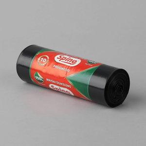 Atkritumu maiss 150L LD (750x1150) 40my, melns, Spino