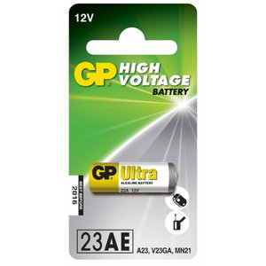 Baterijas 23AE/MN21, 12V, High Voltage Alkaline, 1 gab., Gp