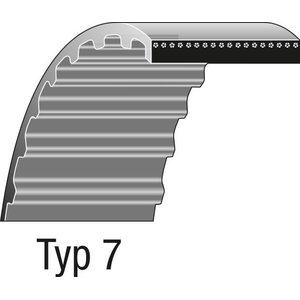 Hammasrihm 800mm 100 hammast, Ratioparts