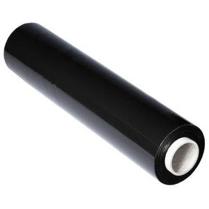 Pakavimo plėvelė  450mm, 20my juoda