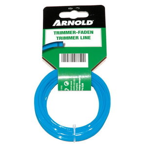 TRIMMER LINE SQUARE  1.6MM x 15M, Arnold