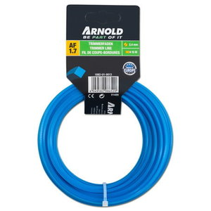 trimmer line 2,4 mm x 12m, square, Arnold