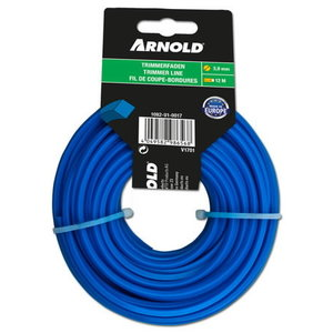 Trimmer line 3,9mm x 12m, square, Arnold