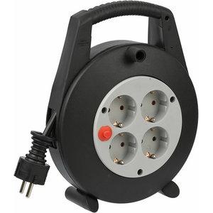 Vario Line Cable Box 4-way black/light grey 5m H05VV-F 3G1,5, Brennenstuhl