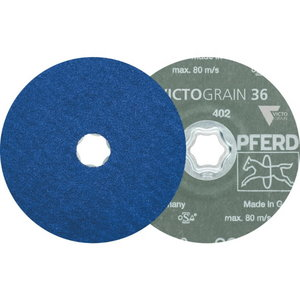 Fiber disc for INOX CC-FS VICTOGRAIN-COOL 125mm P36, Pferd
