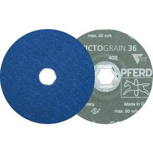 ?ķiedras disks INOX CC-FS VICTOGRAIN-COOL 125mm P36, Pferd