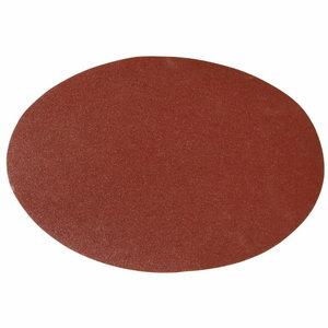 Šlifavimo popierius diam. 230 mm - K 100 (10 vnt.), lipnus, Bernardo