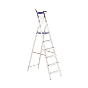 Stepladder TOP STEP 6 steps, Svelt