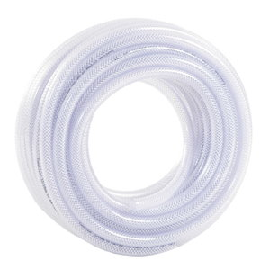 Hose 12mm 50m, transparent 12/18 ToppClear, Toppi