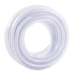 Hose 12mm 50m, transparent 12/18 ToppClear, Toppi