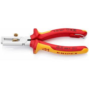 Kaablikoorimistangid  kuni 10mm2 VDE konksuga, Knipex