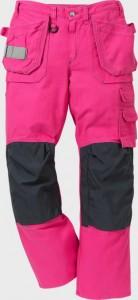 Tööpüksid naistele 2077 NAS roosa, C36, Fristads Kansas
