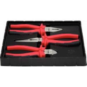 Plier set 160-200mm 3-pcs ERGO, KS Tools