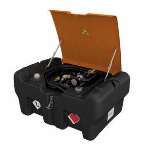 Mobiilne kütusemahuti 330L KS-Mobil Easy el.pumbaga, bensiin, Cemo