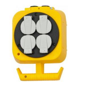 En.plokk riputamiseks 2x4x230V/16A pistikut, kaabel 5m, Brennenstuhl