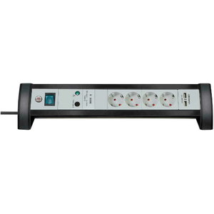 Extension socket 4-way  30.000A, 1,8m  H05V, Brennenstuhl