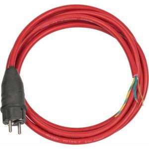 juhe seadmele lahtine punane H07RN-F 3G1,5 3m