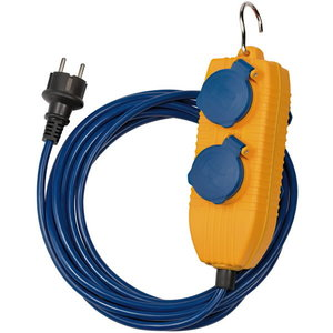 Pagarinātāja kabelis AT-N05V3V3-F 3G1,5 IP44 5m, Brennenstuhl