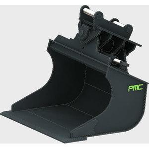 Planning bucket 1200mm 220L POME for JCB 3CX/4CX-le, Pomemet