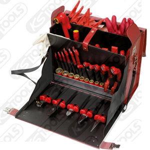 Įrankių komplektas  elektrikui  53vnt, KS Tools
