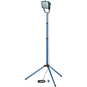 Work lamp on tripod halogeen 400W 8545lm 220V 5m cable IP44, Brennenstuhl