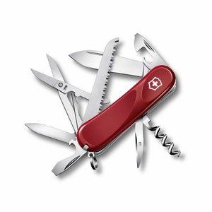 Knife Evolution 17, red, blade 85mm, GP
