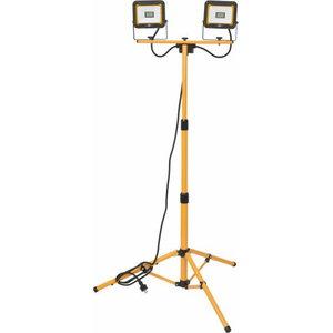 Darba lampa/prožektors uz statīva LED 2x20W 3740lm IP65, Brennenstuhl