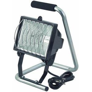 прожектор 400W H IP44  со стойкой, серебристый, 1,5м кабеля, BRENNENS