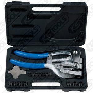Punch pliers set, 16 pcs, KS Tools