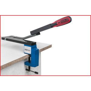 Rankinės svirtinės žirklės 250mm, iki 1,5mm, KS tools
