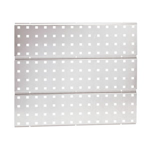 Perforated panel - galvanised - for Super Clip. 1pc, Raaco