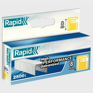 Staples 13/8 2,5m, Rapid