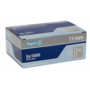 Klambrid juhtmele kuni 4,5mm 28/10 10mm 1000tk, Rapid