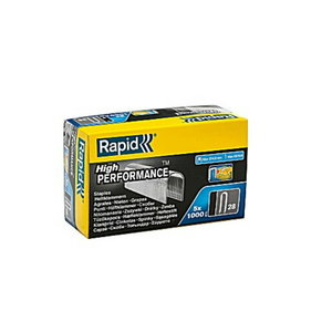 Staples for wires 28/10 1000pcs, Rapid