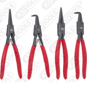 Circlip pliers set, 40-100 mm, 4 pcs, KS Tools