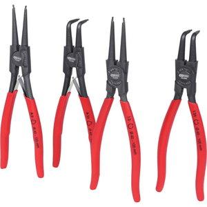 Circlip pliers set, 40-100 mm, 4 pcs, KS Tools