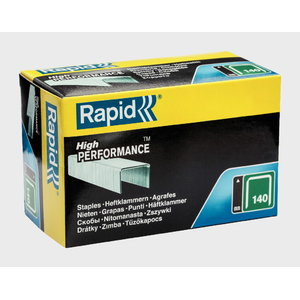 Staples 140/10 5000pcs, green, Rapid