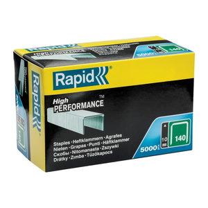 Staples 140/10 5000pcs, green, Rapid