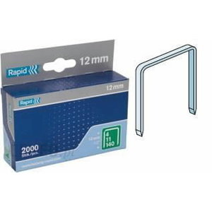 Klambrid 140/12 2000tk 10,6x1,3mm, roheline, pappkarbis, Rapid