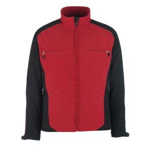 Elastīga jaka DRESDEN SOFTSHELL,   sarkana/melna 3XL, Mascot