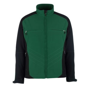 Dresden softshell elastinga striukė,žalia/ juoda, L, Mascot