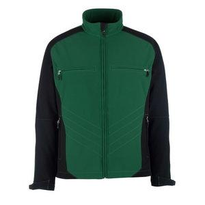 Dresden softshell elastinga striukė, žalia/juoda, XL, Mascot