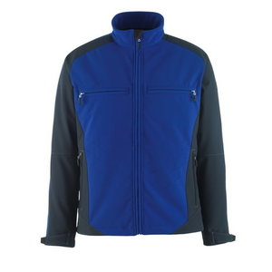 Elastīga jaka Dresden Softshell,  zila/tumši, Mascot