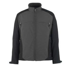 Elastīga jaka Dresden Softshell,  pelēka/melna, Mascot