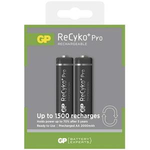 įkraunama baterija AA/LR6, 1,2 V, 2050mAh, ReCyko, 2 vnt., Gp