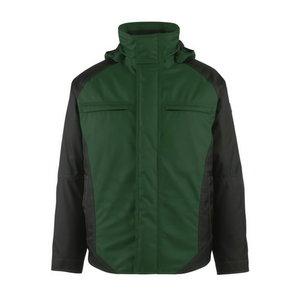 Ziemas jaka ar kapuci Frankfurt, zaļa/melna, M