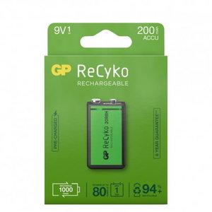 Rechargeable battery 6LR22 9V/8,4V 200mAh GP, GP
