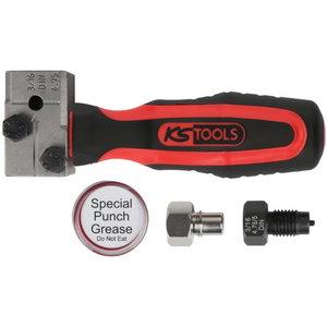 Universalaus briaunų lenkimo įrankių kompl. 4.75mm FLAREFIX FLAREFIXeco, KS tools